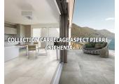 Collection Carrelage Aspect Pierre Extérieur - Sichenia
