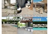 Collection Carrelage Sol Extérieur Aspect Pierre