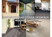 Collection Carrelage Contemporain Extérieur - Parefeuille