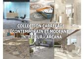 Collection Carrelage sol Contemporain et Moderne intérieur - Arcana