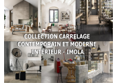 Collection Carrelage sol Contemporain et moderne intérieur - Imola