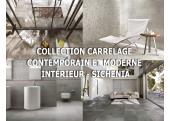 Collections Carrelage sol Contemporain et Moderne intérieur - Sichenia