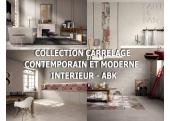 Collections Carrelage sol Contemporain et Moderne intérieur - ABK