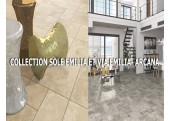 Collection Carrelage sol Aspect Pierre - Arcana