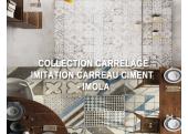 COLLECTION CARRELAGE SOL INTÉRIEUR : IMITATION CARREAUX CIMENT - IMOLA