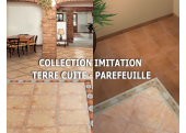 Collection carrelage imitation terre cuite