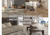 CARRELAGE SOL INTÉRIEUR : IMITATION CARREAU CIMENT - ARCANA